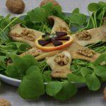 Postelein-Salat mit Pilzen
