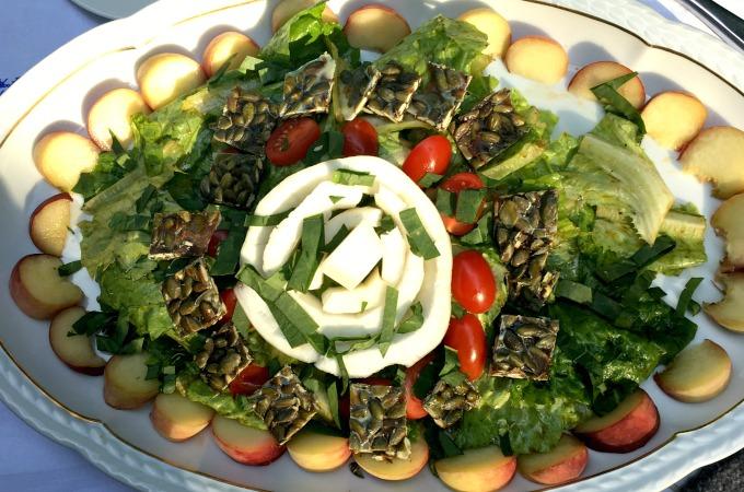 ayurvedischer Sommersalat