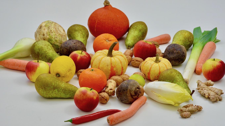 Obst und Gemüse zur Immunabwehr