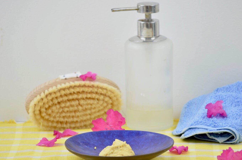 Natürliche Pflege im Bad