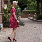 Susanne Dahl beim Gehen
